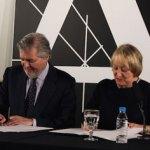 Méndez de Vigo da un paso más en su acercamiento al cine español con la firma de un acuerdo con la Academia
