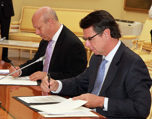 José Ignacio Wert y José Manuel Soria