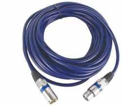 Cable DMX 10m con conectores XLR