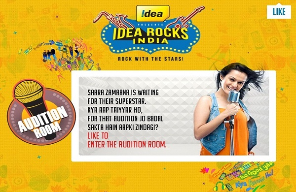 Idea Rocks India Auditions and Online Registration Details