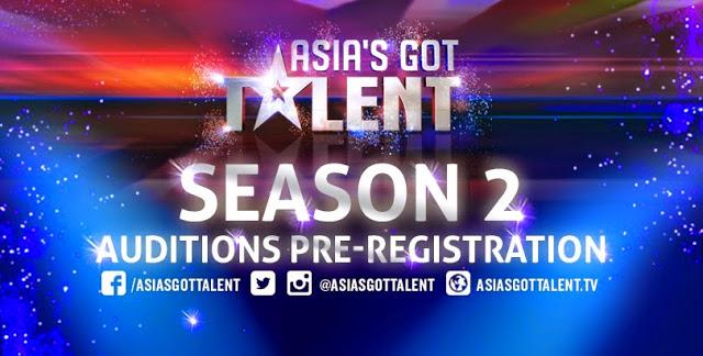 Asia Got Talent season 2 2016 Audition