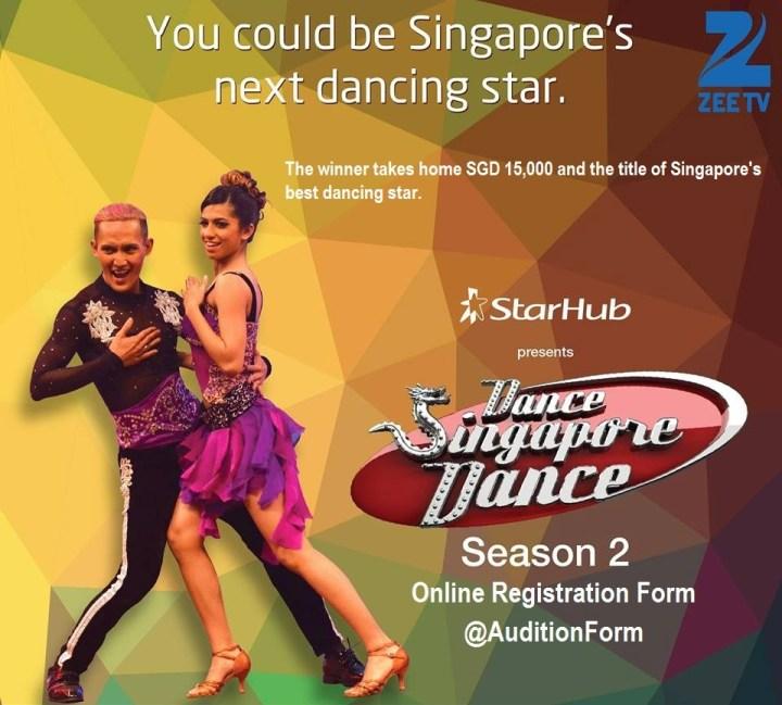 Dance Singapore Dance Season 2 2016 Audition