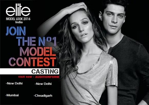 Elite Model Look 2016 Auditions Details [Modelling Auditions]