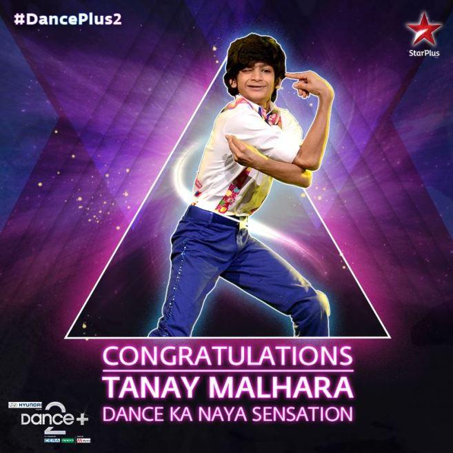 2016 Dance Plus 2 Winner