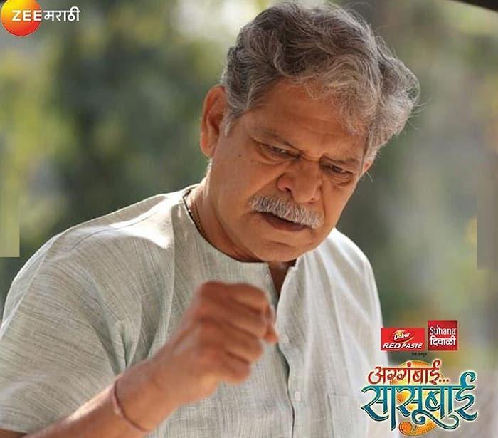 Mohan Joshi Will Play The Role of Ajoba in Aggabai Sasubai