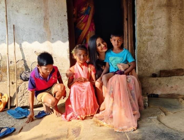 Tina Phillip cherishes her village experience
