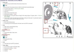 Torque specs for brake calipers  AudiWorld Forums
