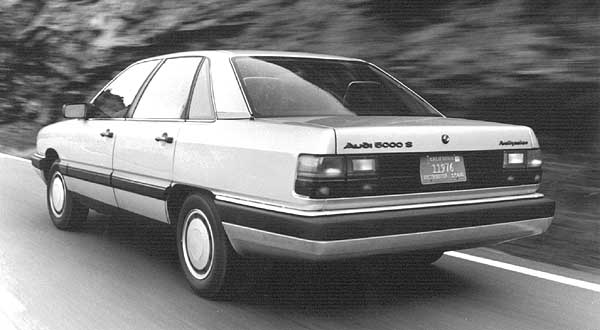 1984 Audi 5000