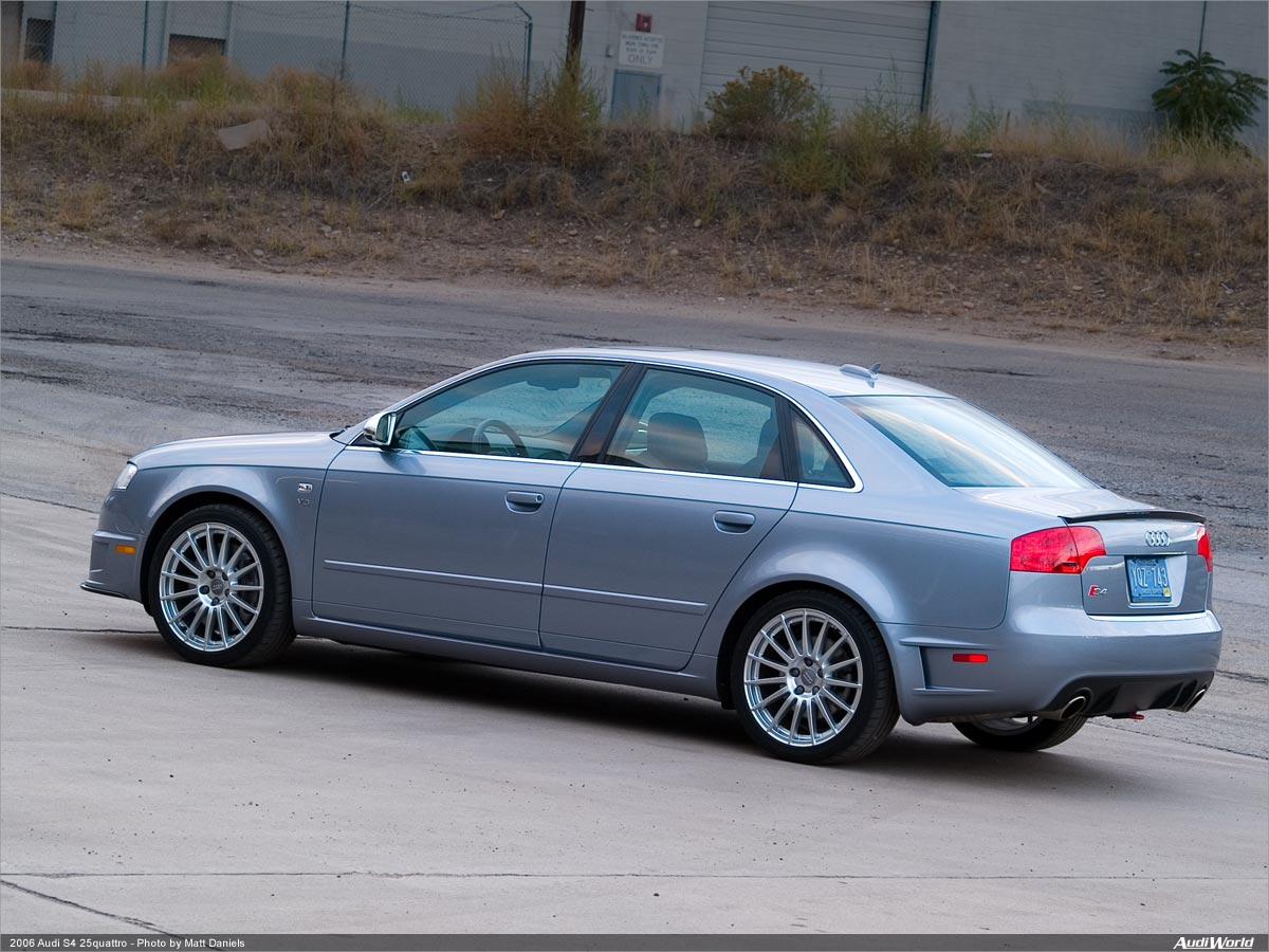 Celebrating Years Of Quattro S Quattro Road Test AudiWorld - 2006 audi s4