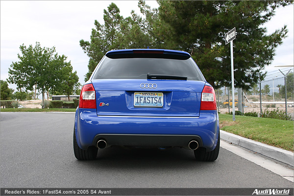 Readers Rides 1fasts4s 2005 S4 Avant Audiworld