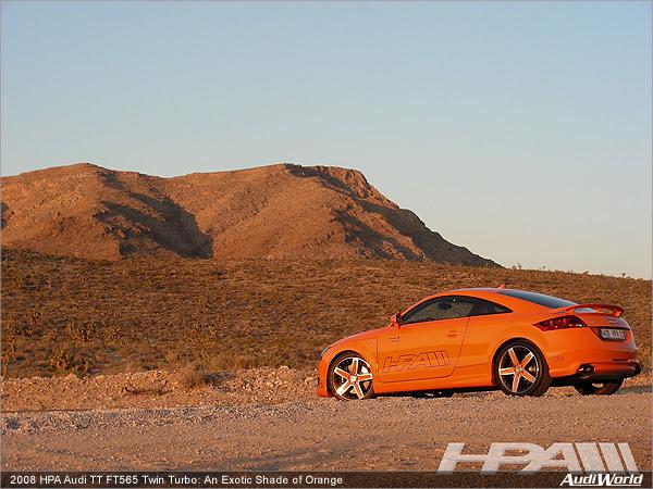 2008 Hpa Audi Tt Ft565 Twin Turbo An Exotic Shade Of Orange Audiworld