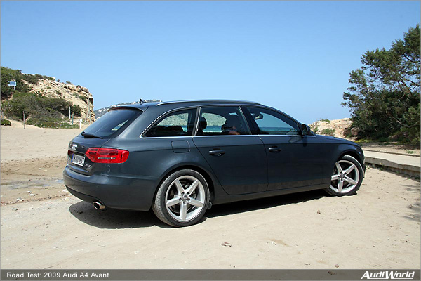 Road Test 2009 Audi A4 Avant Audiworld