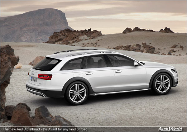 The New Audi A6 Allroad The Avant For Any Kind Of Road Audiworld