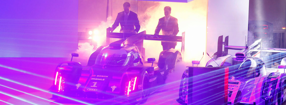 Audi R18 E Tron Quattro With Laser Light Audiworld