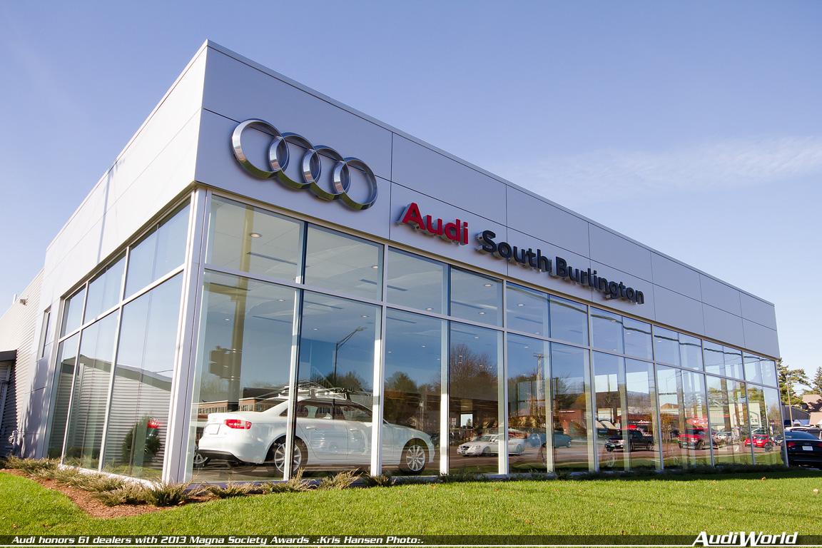 Audi Honors Dealers With Magna Society Awards AudiWorld - Langan audi