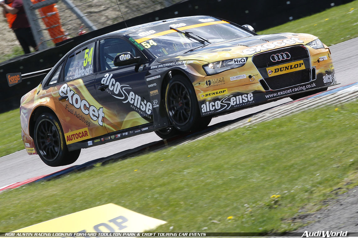 ROB AUSTIN RACING LOOKING FORWARD TO OULTON PARK CROFT TOURING CAR - Austin audi