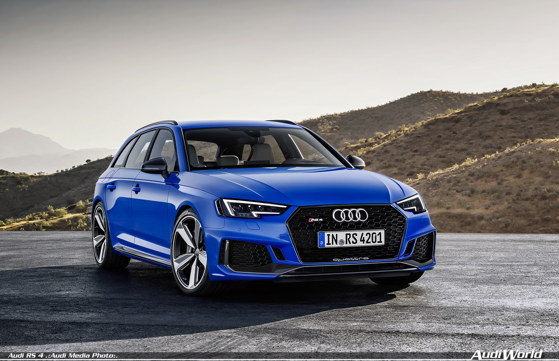 Return of the RS icon: the new Audi RS 4 Avant - AudiWorld