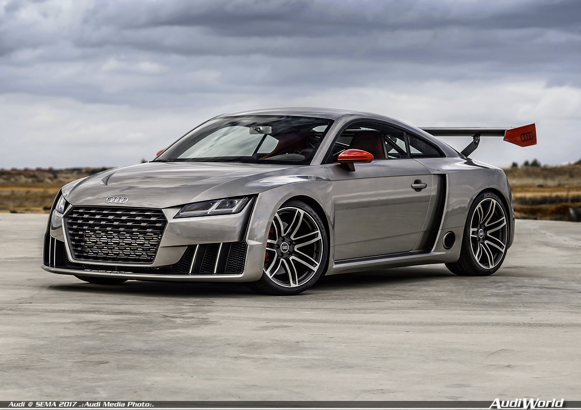 Audi Sport Performance Parts And Audi Tt Clubsport Turbo Concept
