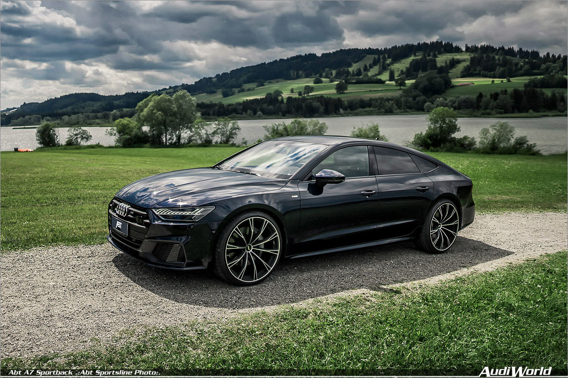 abt audi a7 3 0 tfsi with 425 hp and 22 inch wheels audiworld. Black Bedroom Furniture Sets. Home Design Ideas