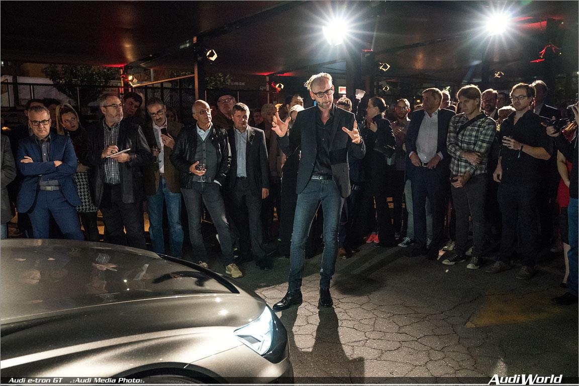Video: Robert Downey Jr. and Audi designer Mark Lichte on the E-Tron GT Concept