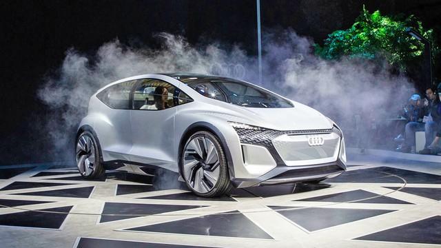 Audi Debuts Autonomous EV Concept at 2019 Shanghai Show