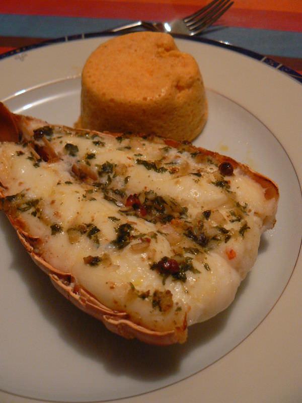 Queues de langoustes grill es ma p 39 tite cuisine for Cuisine queue de langouste