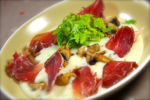 Pur e de topinambour truff e po l e de champignons ma p 39 tite cuisine - Cuisiner les topinambour ...