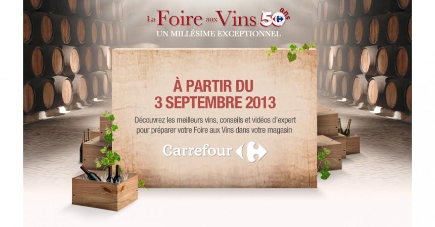 Ma Cave Idale Avec Carrefour Pour La Foire Aux Vins Ma
