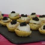 Tartelette St Jacques & caviar