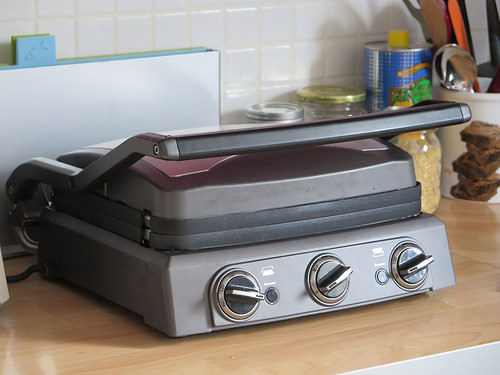 test du griddler pro gr50e de cuisinart ma p 39 tite cuisine. Black Bedroom Furniture Sets. Home Design Ideas