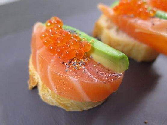 bouchée saumon