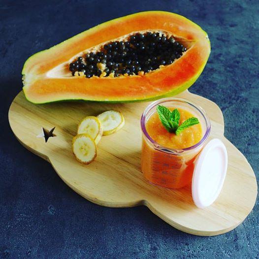 Compote de papaye et banane audrey f e la cuisine - La petite cuisine d audrey ...