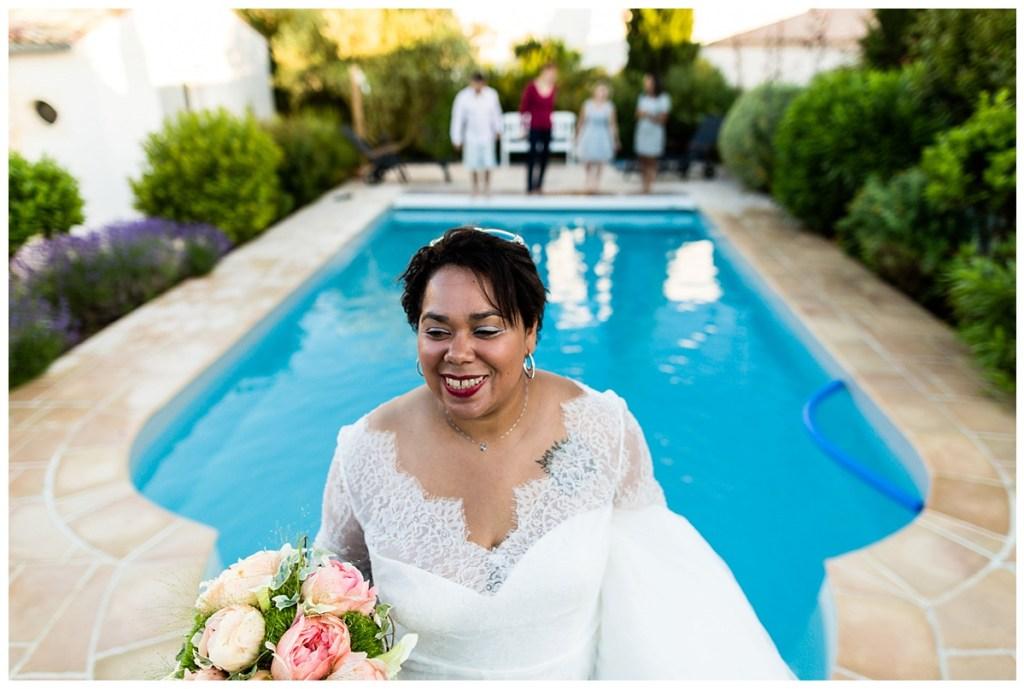 lance de bouquet mariage