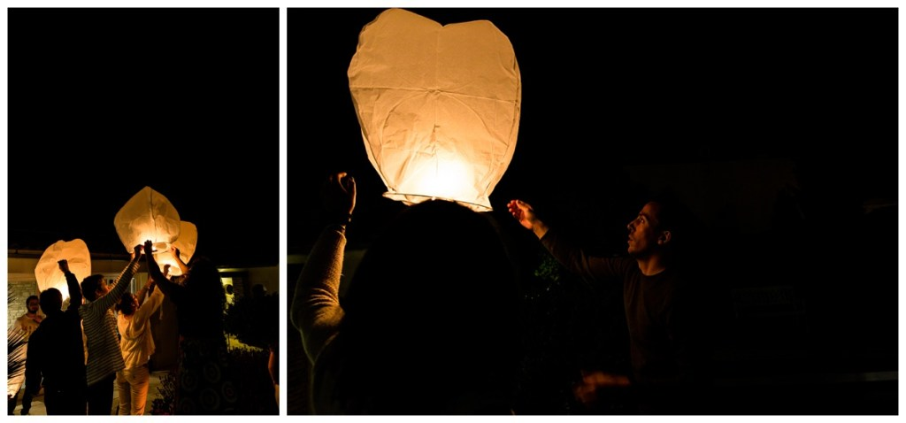 lacher de lanternes mariage gay