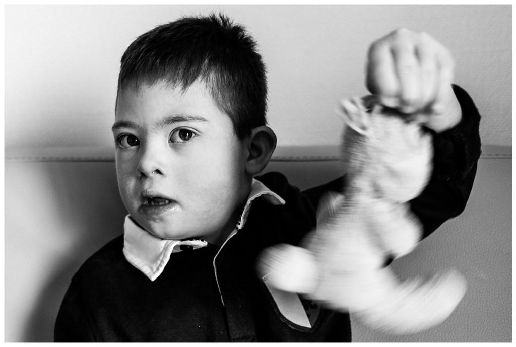 grand shooting national sur la trisomie 21 organisé par l'association tombée du nid. Audrey GUYON, photographe handicap en Normandie y a participé.