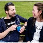 Séance photo couple à Cabourg – Monsieur Grognon et Madame Dans la lune