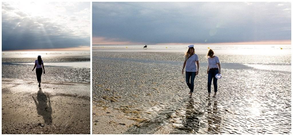 evjf sur la plage de deauville par audrey guyon photographe evjf en normandie