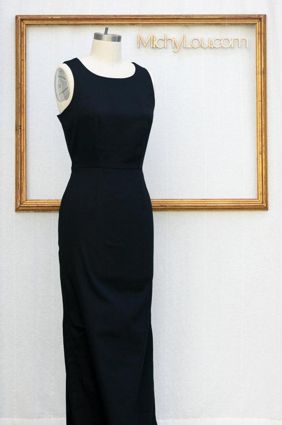 Audrey Heoburn Black Dress Brekfast At Tiffany's