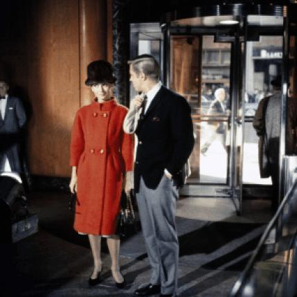 Audrey Hepburn George Peppard Breakfast At Tiffany's