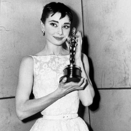 Audrey Hepburn Oscar