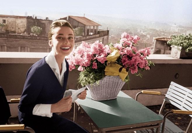Audrey Hepburn Rome