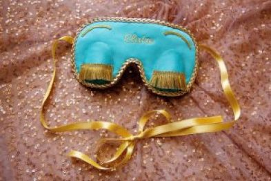 Audrey Hepburn Breafast at tiffany's sleep mask