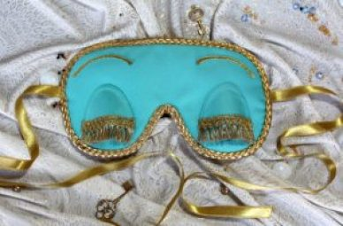 Holly Golightly sleep mask Breakfast At Tiffany's