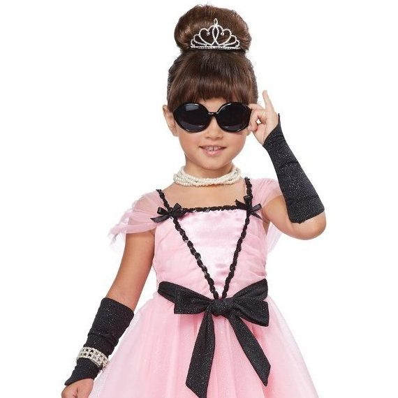 girl breakfast at tiffany s halloween costume audrey hepburn tribute