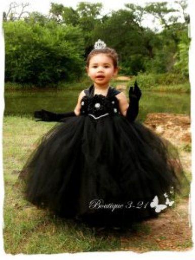Breakfast at tiffany's black dress for children