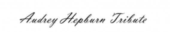 Audrey Hepburn Tribute Logo
