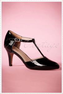 Decollete Black Mid heel pumps