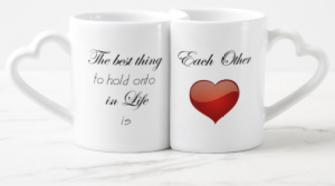Valentine's Mugs Heart