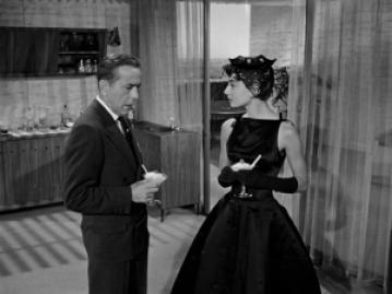 Audrey Hepburn Black Dress Sabrina Movie