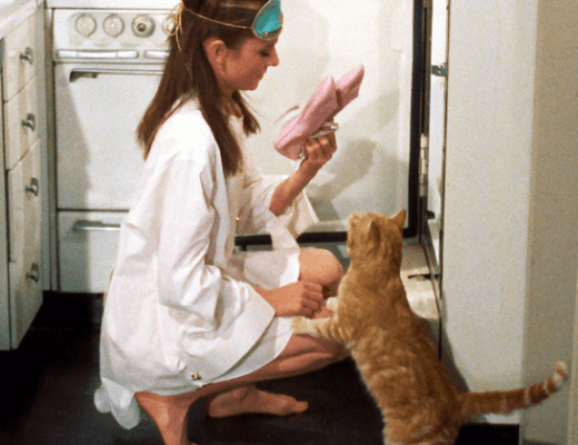 Holly Golightly Cat Breakfast At Tiffany's